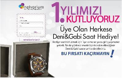 netvarium.com hediye dediği saatleri satmış