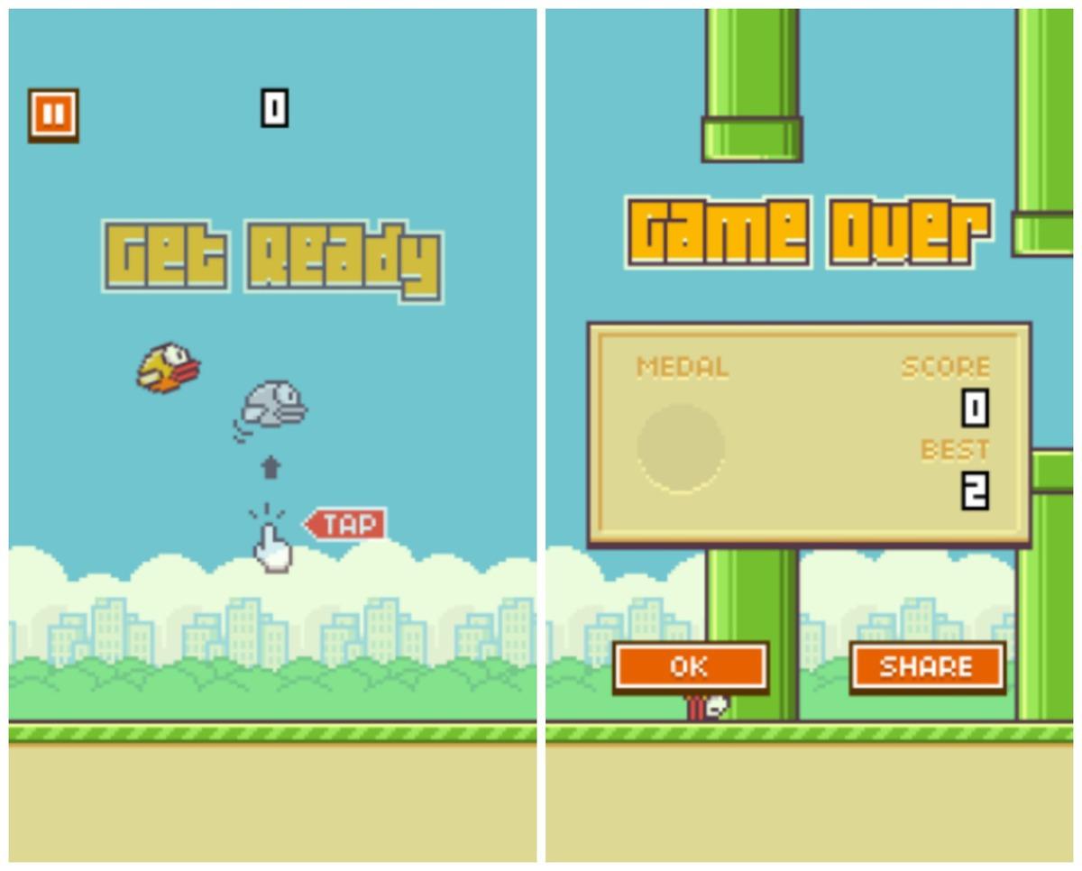efsane olan Flappy Bird yayından kaldırılıyor