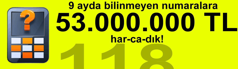 BTK verilerine göre 9 ayda bilinmeyen numara servislerine 53 milyon lira harcadık