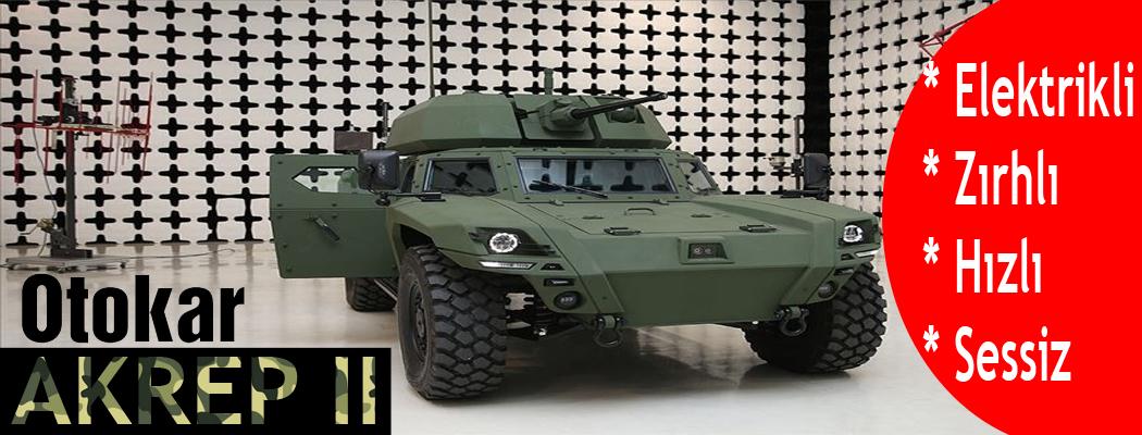 Photo of Elektrikli zırhlı aracımız Otokar AKREP II