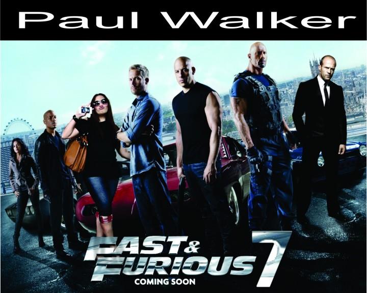 Paul Walker Fast & Furious' ta son kez seyirci ile buluşacak