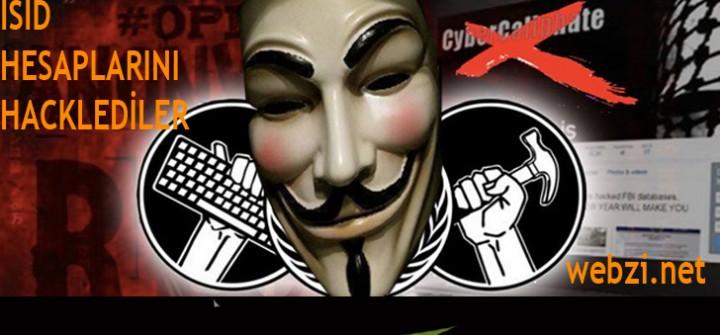 Anonymous ISID hesaplarını hackledi