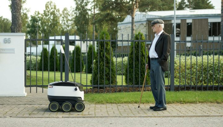 Pizza siparişinizi artık robotlar teslim edecek