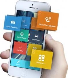 Trafik kaza tespit tutanağı mobil uygulaması yayınlandı