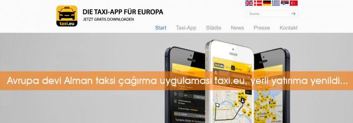 Alman taksi çağırma uygulaması İstanbul operasyonunu sonlandırdı