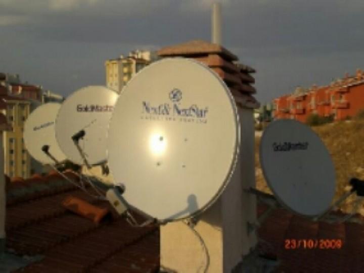 Uydu antenleri değişiyor.Türkiye karasal yayına geçiyor.